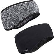 Roysmart Winter Ear Warmers Headband, Stretchy Yoga Headband Gym Sport Headband Thermal Ear Muffs Ski Headband