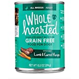 WholeHearted Grain Free Adult Lamb and Carrot Recipe Wet Dog Food, 13.2 oz, Case of 12, 12 X 13.2 OZ For Sale
