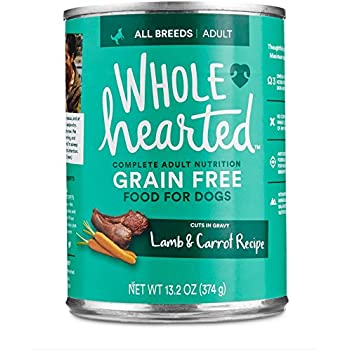 Wholehearted Grain Free Adult Lamb And Carrot Recipe Wet
