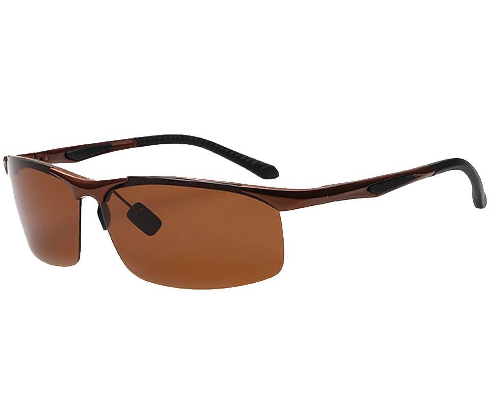 Polarized Light Sunglasses Aluminum Magnesium For Riding Mountaineering Travel Fishing men and women