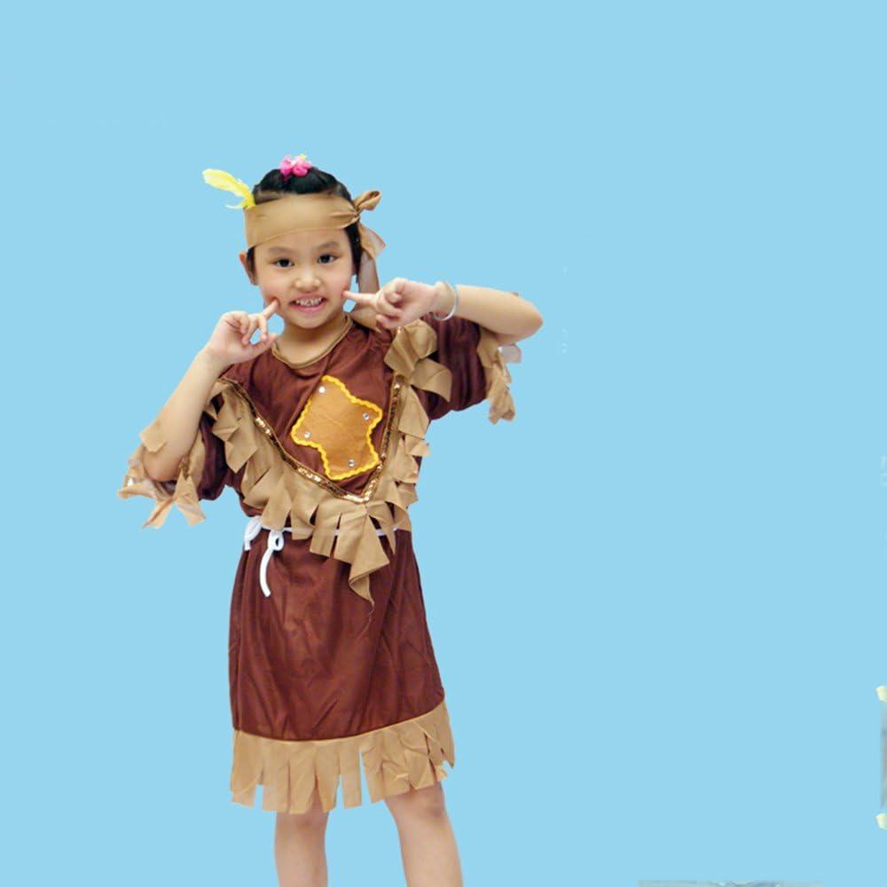 De Halloween Disfraz de Rendimiento de los niños Vestuario Salvaje ...