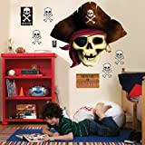 Party Destination 158985 Pirates Giant Wall Decals, Health Care Stuffs