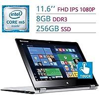 2017 Lenovo Yoga 700 11.6?? FHD (1920 x 1080) IPS 2-in-1 Touch Laptop PC, 6th Gen Intel Dual Core M5-6Y54 Processor, 8GB DDR3 RAM, 256GB SSD, HDMI, Bluetooth, WIFI, Windows 10-Silver