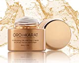 ORO24KARAT Moisturizing 24k AM Day Cream Daily Care Quick-Absorbing New Anti-Aging Formula Supple Skin Anti-Wrinkle Rich with Vitamins, Hyaluronic Acid, Collagen, and 24k Gold Made in the USA (1.7oz)