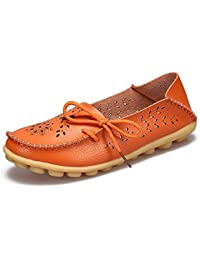 4802b0856876 Plus Size 2018 Ballet Summer Cut Out Women Shoes Flat Casual Fashion Loafer