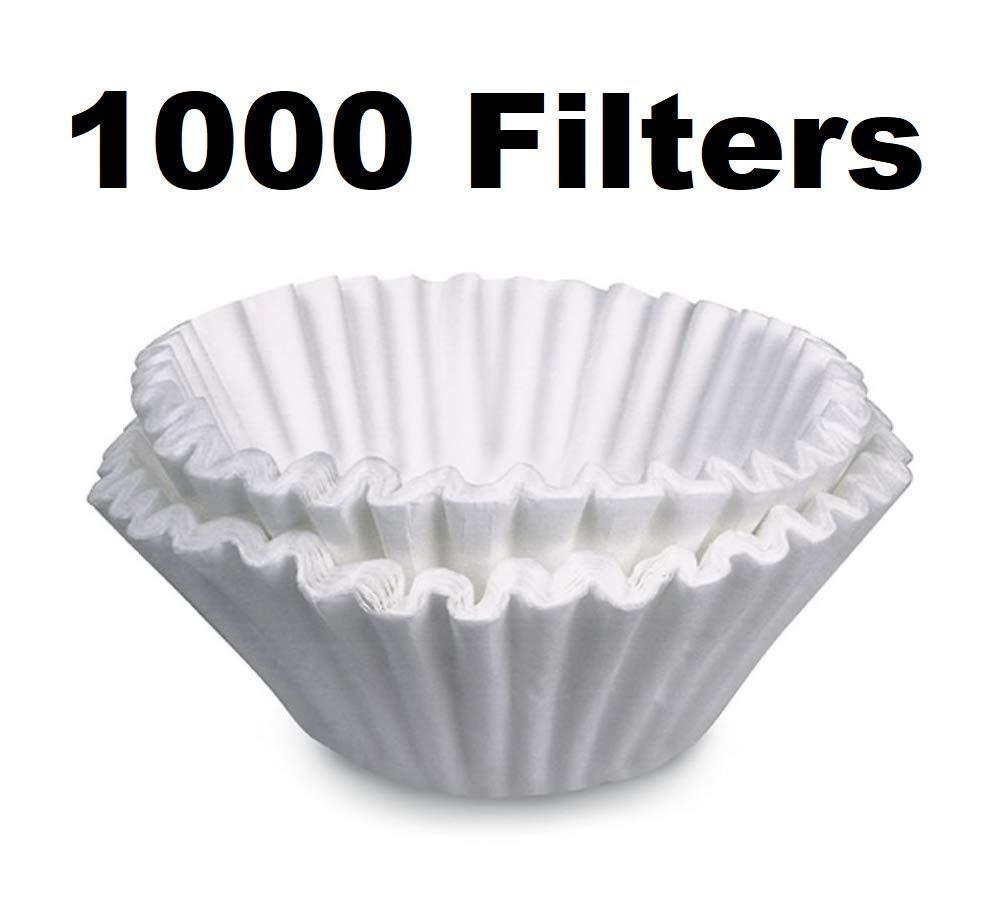 OKSLO コーヒーフィルター bunn grx-w grx-b 10カップ 速度醸造用 1000パック   B07N3VH78X