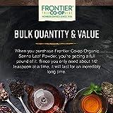 Frontier Co-op Senna Leaf Powder, Certified