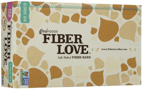 NuGo Fiber d'Lish Bars - Blondie - 1.6 oz - 16 (Fibre Bar)