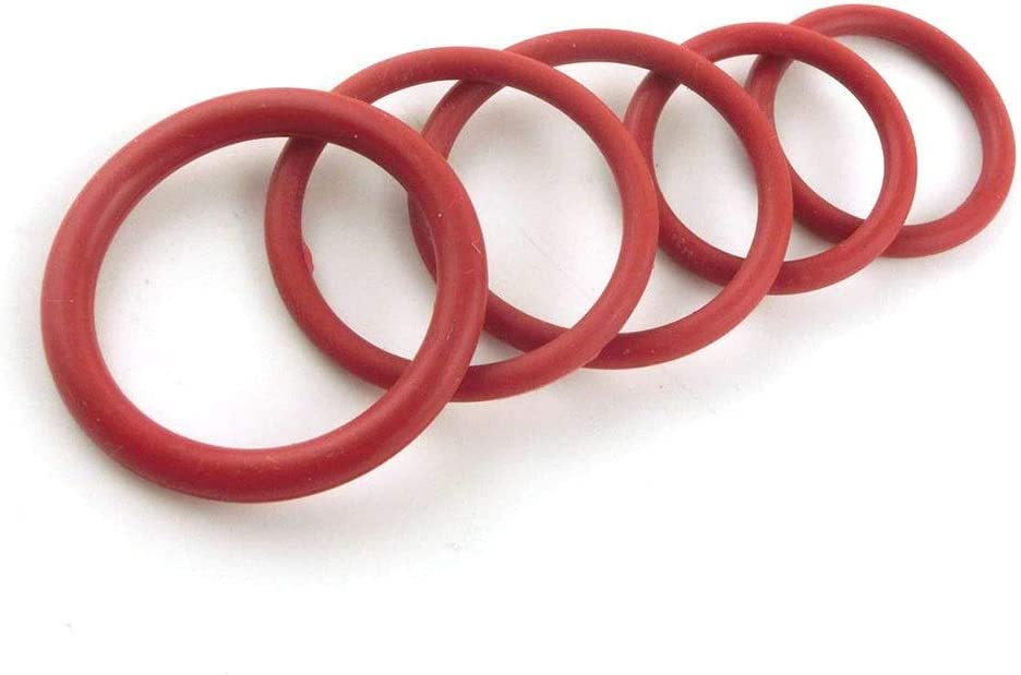 Size : 77x73x2mm 20pcs 1.9mm Thickness O Rings Heat Resistance Seals Gasket 77//80//85//90//95//100//105//110//115//120mm OD Red Silicon O-Rings Sealing