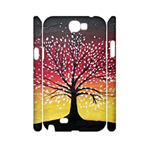 Tree of Life Phone Case For Samsung Galaxy Note 2 N7100 [Pattern-1]