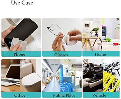 Portable Wet Wipes Hand Body Cleaning Travel Sized For Adults Baby Used in Home Office Kitchen Business Company 100 Wipes