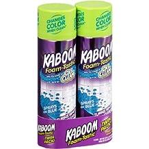 Twin Pack Kaboom Foam-Tastic Fresh Scent Bathroom Cleaner, 19 oz, 2 count