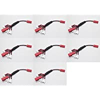 8 x Quantity of Walkera QR Ladybird 5.8Ghz FPV Multi-Plug Charge Lead for Micro Model Batteries