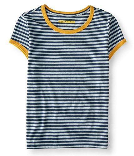 aeropostale-womens-prince-fox-striped-ringer-tee-shirt-l-blue-dragon