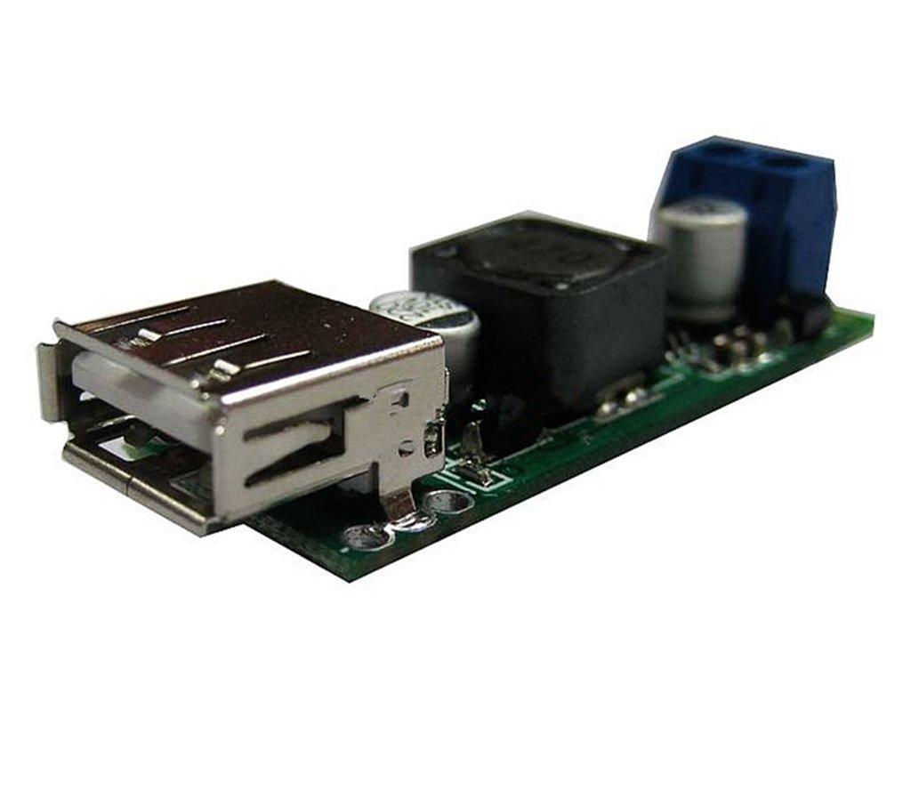 SMO Seule sortie USB DC Convertisseur 6V 12V 24V 35V à 5V 3A abaisseur Module iPad