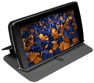 mumbi Bookstyle-Stand-Slim - Funda con tapa para Nexus 5, negro