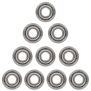 8x 6802-ZZ Ball Bearing 15mm x 24mm x 5mm Double Shielded Metal Seal NEW 2Z