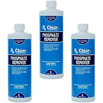 Rx clear phosphate remover 3 quarts non - Phosphate treatment for swimming pools ...