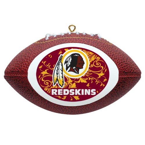 NFL Washington Redskins Mini Replica Football Ornament