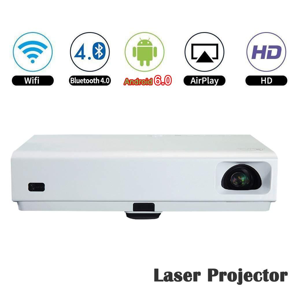 Deeirao Proyector láser 3D, portátil proyector de Cine en casa DLP ...
