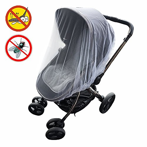 KIMYO Full Cover Baby Mosquito Net for Strollers Portable Du