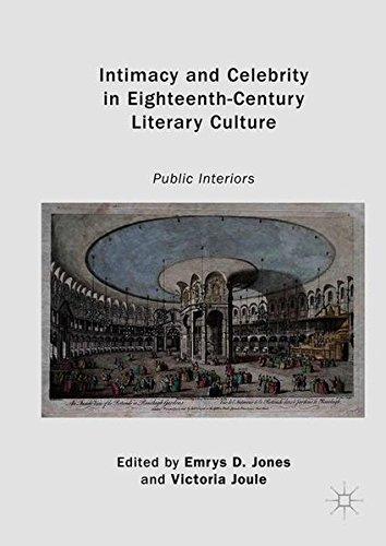 Intimacy and Celebrity in Eighteenth-Century Literary Culture: Public Interiors
