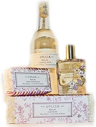 Lollia Relax 4 Piece Bubble Bath Set