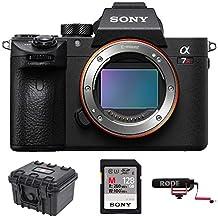Sony a7R III 42.4MP Full-frame Mirrorless Interchangeable-Lens Camera 128GB VideoMicGo Bundle