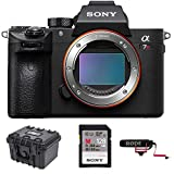 Cheap Sony a7R III 42.4MP Full-Frame Mirrorless Interchangeable-Lens Camera 128GB VideoMicGo Bundle