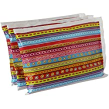 """Ice Pack for Lunch Boxes (3 Pack) by Bentology (6""""x4.5"""") - Doodle Design"""