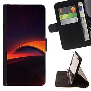 For Sony Xperia M2 - Digital layers /Funda de piel cubierta de la carpeta Foilo con cierre magn???¡¯????tico/ - Super Marley Shop -