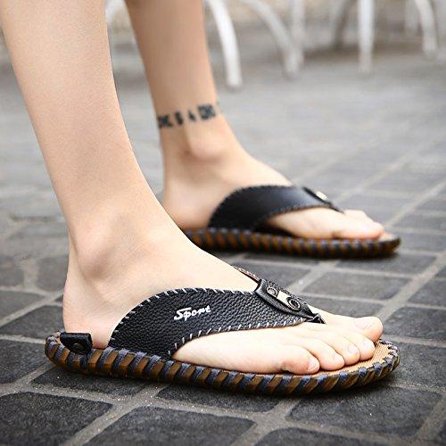@Sandals Chanclas, Hombre De Zapatillas, Calzado Antideslizante, Sandalias, Sandalias, Sandalias, Sandalias, Sandalias Y Sandalias,42,Negro 42|black