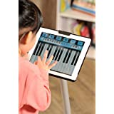 IPEVO Security Stand For iPad 2 & 3 | Perfect For Game Playing & Movie Watching | With Aluminum Leg and Heavy Gauge Steel Base
