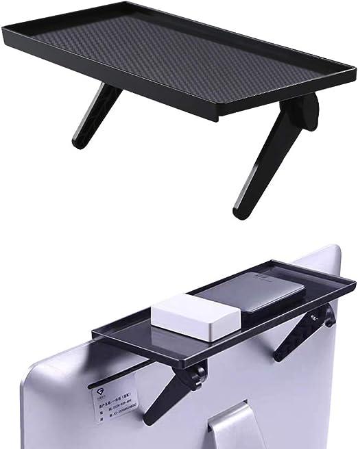 AV Receiver Game Console and More CS106M BW Bracwiser No Drill TV Top Shelf 305mm Wide Monitor Top Mounting Bracket Platform Holds Speaker Media Box