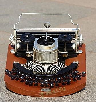 WYJ antiguo máquina de escribir Vintage Home decorativos, cafetería, bar el salón Studio Props