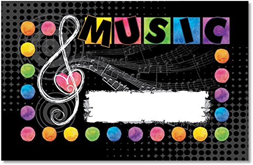 Music Love Incentive Punch Cards