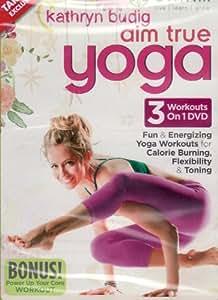 Gaiam Kathryn Budig Aim True Yoga 3 Workouts on 1 DVD