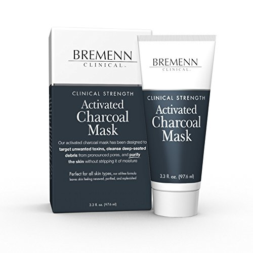 Activated Charcoal Mask - A Potent Cleansing, Detoxifying, and Clarifying Facial Mask, 3.3 oz.