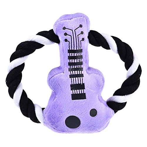 Dog Toy Pet Puppy Plush Sound Chew Squeaker Squeaky Toys by Awtang Guitar Model Review