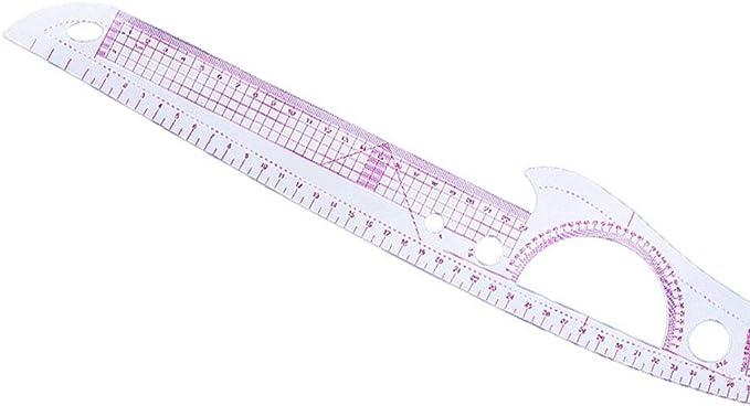 hongxinq 7Pcs//Set Curve Metric Ruler DIY Drawing Template Sewing Dress Making Tailor Tool Measure Ruler for Sewing Dressmaking Supplies