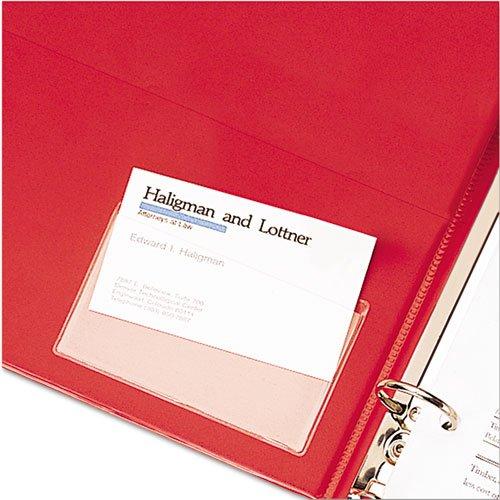 CRD21500CB - Cardinal HOLDit! Business Card Holder, Self-Adhesive