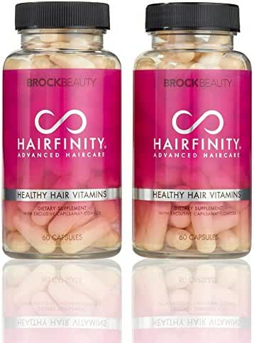 Brock Beauty Hairfinity Healthy Hair Vitamins 120 capsules (2 Months Supply)