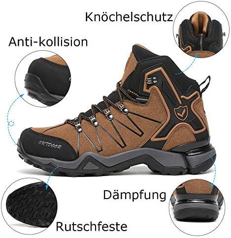 Kinder Wanderschuhe Jungen Wanderstiefel M/ädchen Outdoor Trekking Schuhe rutschfeste Mid Trekkingstiefel