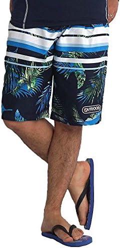 [해외](아웃 도어 제품) OUTDOOR PRODUCTS 수영복 남자 서핑 팬츠 트렁크 이너 된 바다 빵 꽃무늬 바닷물 반바지 서핑 M L LL / (Outdoor Products) OUTDOOR PRODUCTS Swimwear Men`s Surf Pants With Trunks Inner Sea Pan Floral Flower Saltwater Pants...