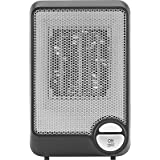 Insignia™ - Desktop Ceramic Heater - Black/Gray