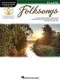 Flute Play-Along: Folksongs. Partitions, CD pour Flûte Traversière