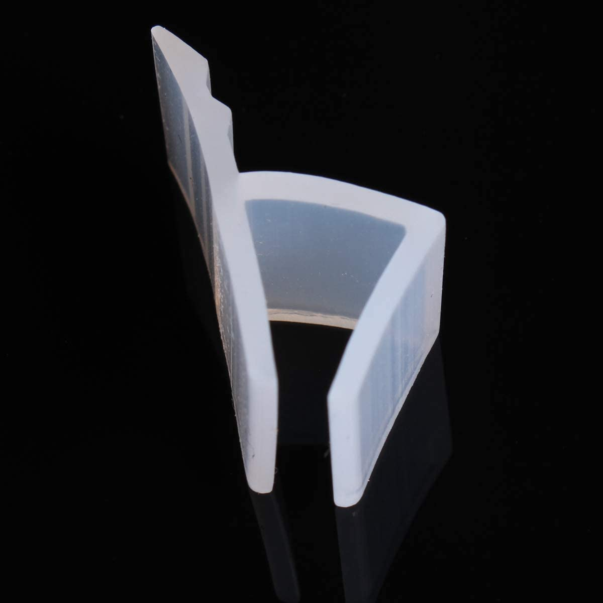 dDanke - Tira de sellado flexible de 2 m de longitud para mampara de baño o ducha de 6-12 mm de grosor, 10 mm: Amazon.es: Hogar