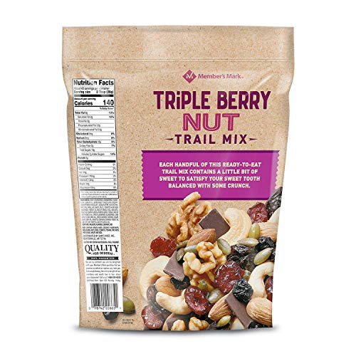 Member's Mark Triple Berry Nut Trail Mix 40 oz. (pack of 4) A1 by Store - 383 (Image #1)