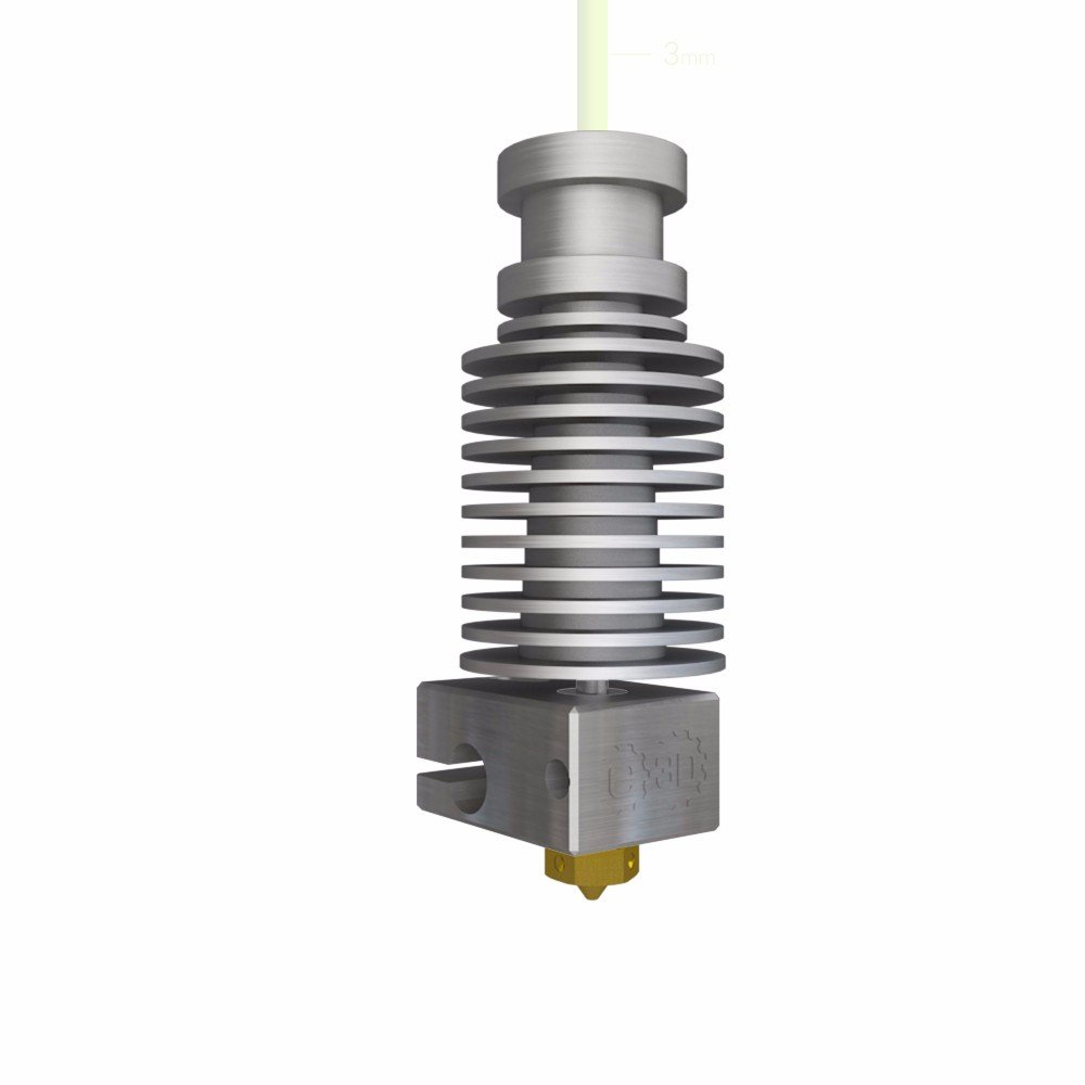Genuine E3D V6 All-Metal HotEnd-3mm-Universal - Direct Drive-Metal ...