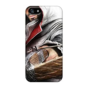 Tpu Lowomobilephone7 Shockproof Scratcheproof Assassins Creed Hard Cases Covers For Iphone 5/5s